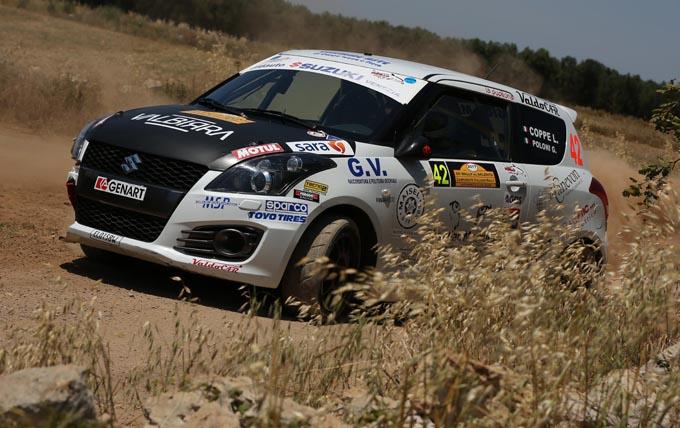 Suzuki Rally Trophy – Rally del Salento: Martinelli e Coppe si spartiscono le vittorie in gara-1 e gara-2