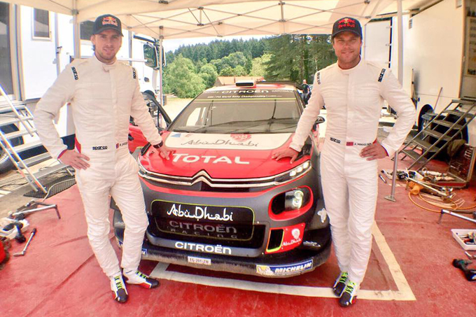 WRC – Citroën: primo test di Mikkelsen sulla C3