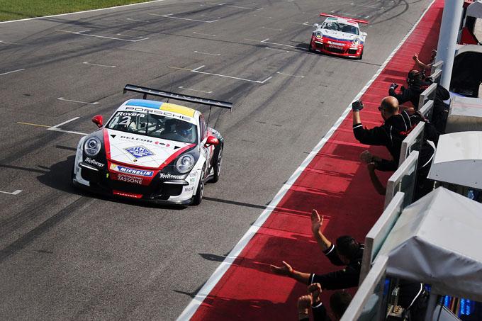 Porsche Carrera Cup Italia – Misano, gara-2: Rovera si prende la rivincita su Pera
