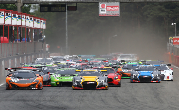 Blancpain GT – Zolder, Sprint Cup: prima vittoria Audi con Winkelhock-Stevens