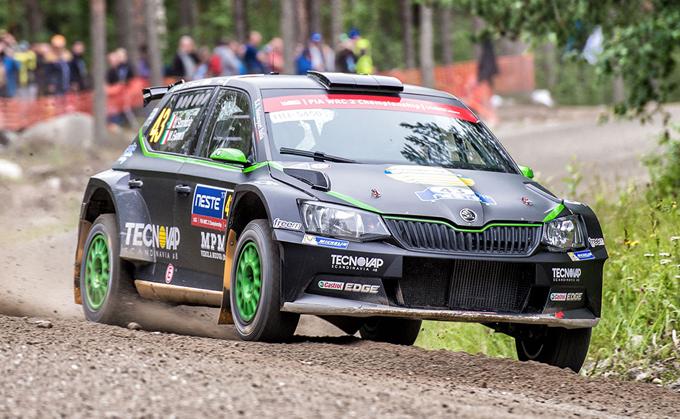 WRC2 – Rally di Finlandia: decimo posto per Scandola