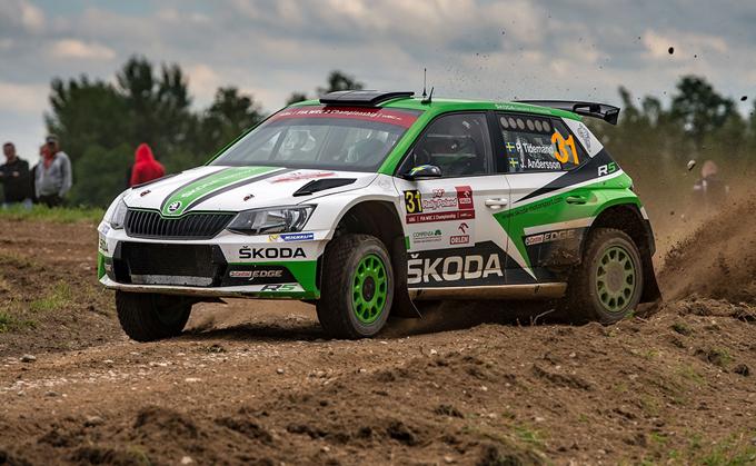WRC2 – Rally di Polonia, Škoda: seconda piazza per Tidemand, termina la striscia di vittorie consecutive