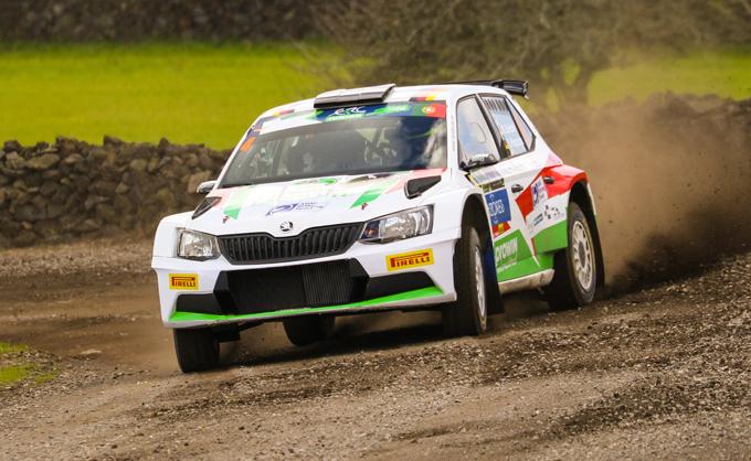 WRC2 – Marijan Griebel sulla Škoda Fabia R5 del team BRR al Rally di Germania