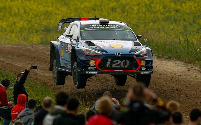 WRC – Rally di Polonia, Hyundai: Neuville-Paddon, la doppietta è servita!