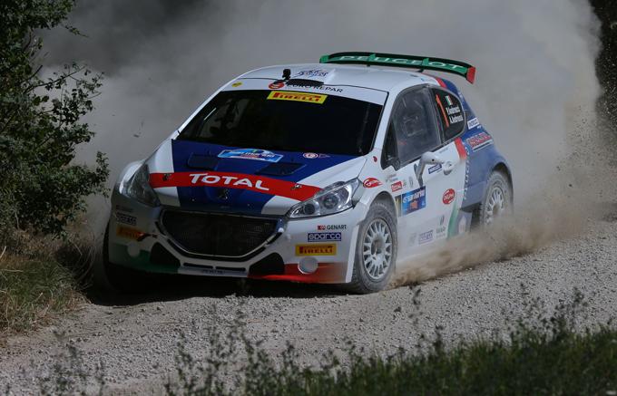CIR – Rally di San Marino, Peugeot: Andreucci secondo, Pollara primo nel tricolore Junior