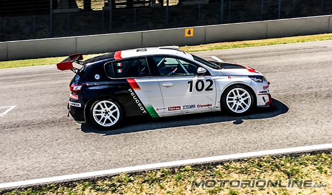 TCR Italia 2017 – Mugello: buone prove libere per il nostro Gianluca Mauriello sulla Peugeot 308 [FOTO]