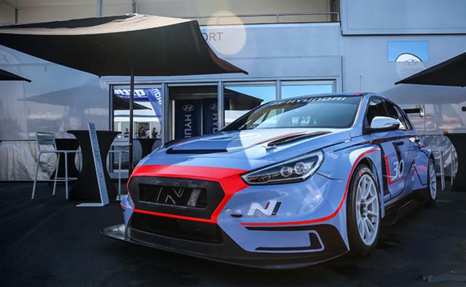 TCR – Hyundai i30 N TCR: prima apparizione pubblica al Nürburgring
