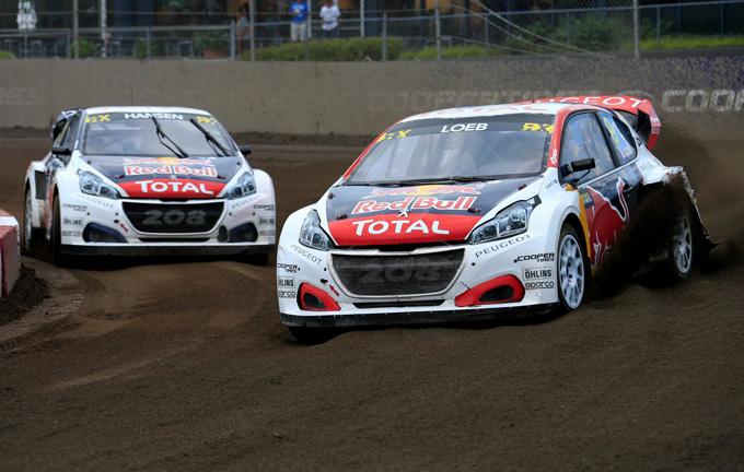 FIA WRX – Canada, Peugeot: terzo podio consecutivo per Loeb