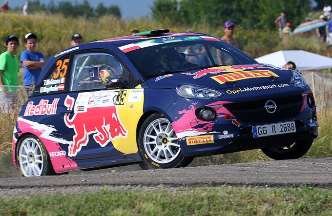 WRC – Rally di Germania: Jari Huttunen e Tamara Molinaro al via con le Opel Adam R2