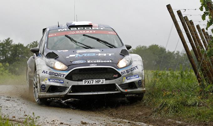 WRC2 – Rally di Germania, M-Sport: prima affermazione assoluta della Ford Fiesta R5 Evo2