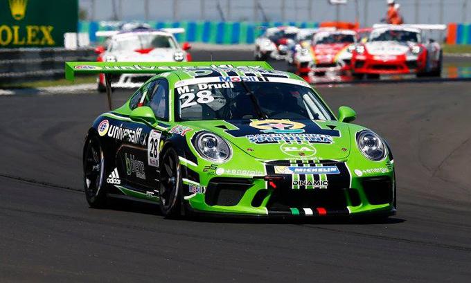 Porsche Supercup – Hungaroring: quinto posto assoluto per Drudi