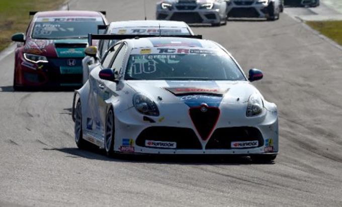 ADAC TCR Germany – Hockenheim: Top ten raggiunta dall'Alfa Romeo del V-Action Racing Team