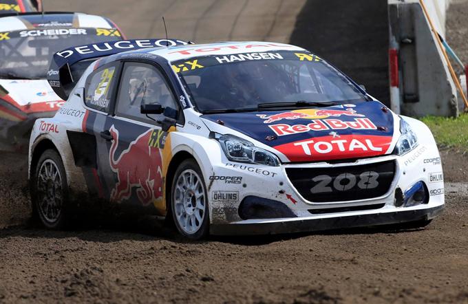 FIA WRX – Peugeot: il Team Hansen sarà impegnato nel fine settimana in Lettonia