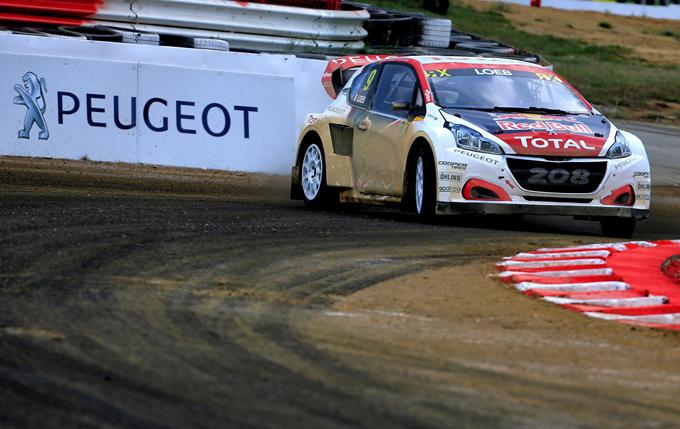 FIA WRX – Lohèac, Peugeot: quarto podio consecutivo per Loeb