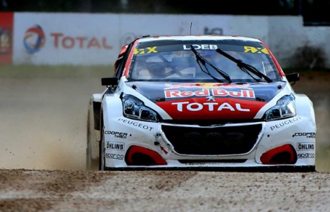 FIA WRX – Riga, Peugeot: terzo posto per Loeb, quinto podio consecutivo
