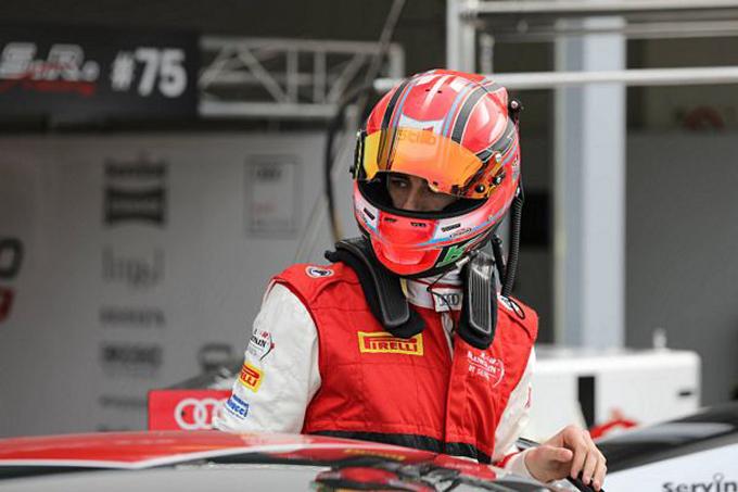 Blancpain GT – Endurance Cup, Barcellona: Kevin Ceccon con l'Audi di I.S.R. Racing
