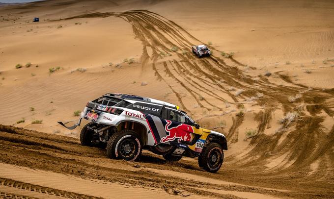 Peugeot – Due 3008 DKR al Rally del Marocco