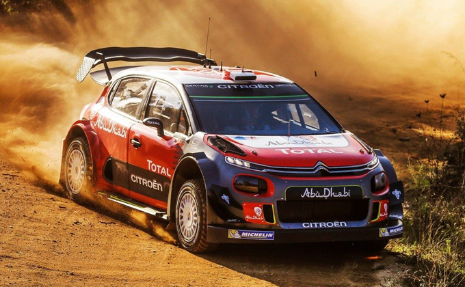 WRC – Citroen: test su sterrato per Loeb in Spagna