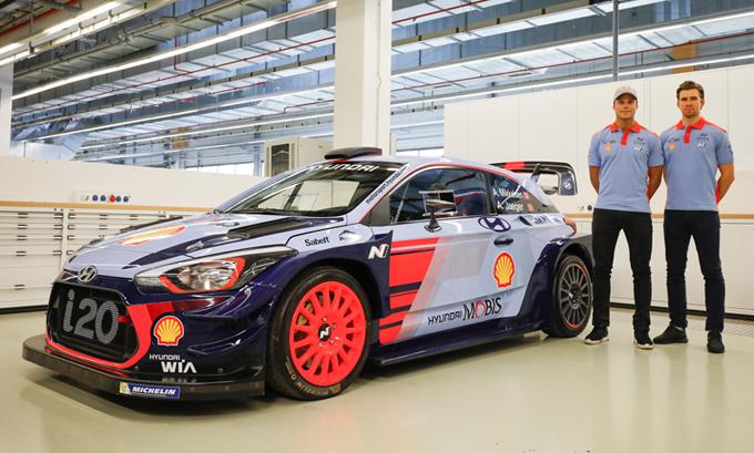 WRC – Hyundai: Mikkelsen ha firmato per le stagioni 2018 e 2019