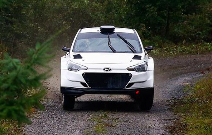 WRC – Hyundai: Mikkelsen ha provato la i20 R5 in Francia