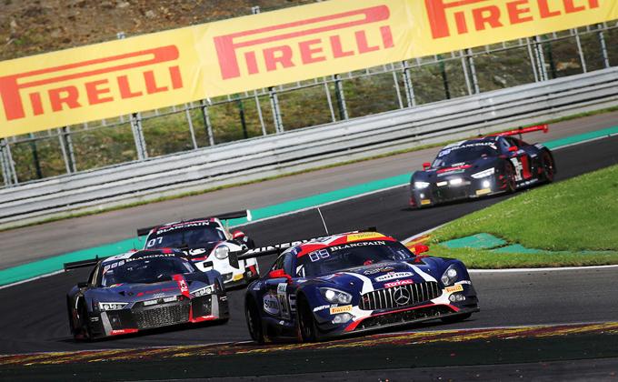 Blancpain GT – Nurburgring, Pirelli: gli pneumatici P Zero DHD a disposizione dei team