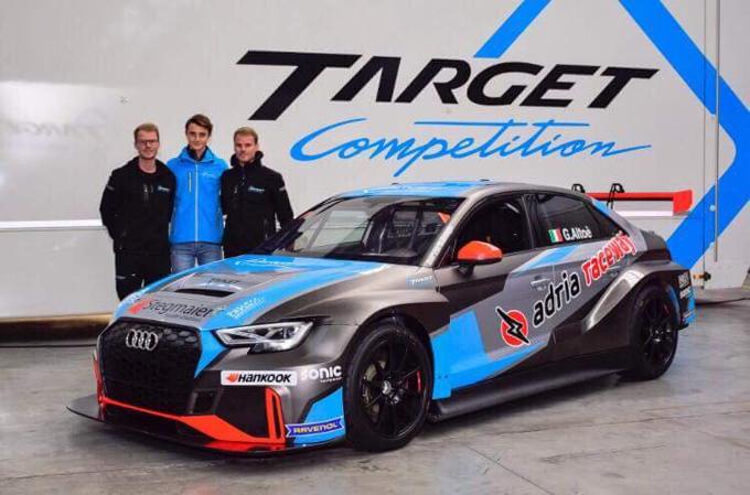 TCR Italy – Monza: Giacomo Altoè con l'Audi del Target Competition