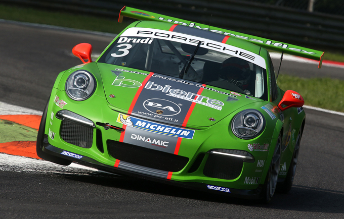 Porsche Carrera Cup Italia – Monza: Drudi rientra nella serie italiana