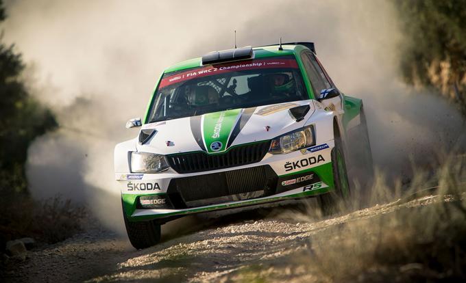 WRC2 – Rally di Catalogna, Skoda: piazza d'onore per Kopecky