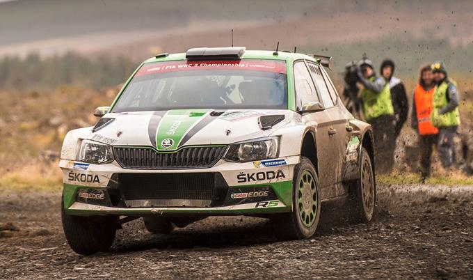 WRC2 – Rally di Gran Bretagna, Skoda: vittoria perentoria di Tidemand