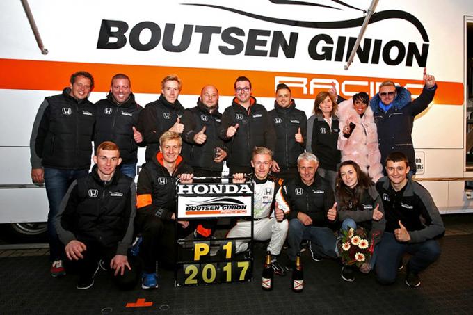 TCR Benelux – Benjamin Lessennes e il Boutsen Ginion Racing campioni 2017