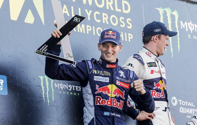 FIA WRX – Buxtehude, Peugeot: Timmy Hansen torna sul podio, secondo posto per lo svedese