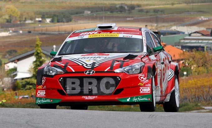 TER – Giandomenico Basso si aggiudica il campionato con la Hyundai i20 R5 del team BRC