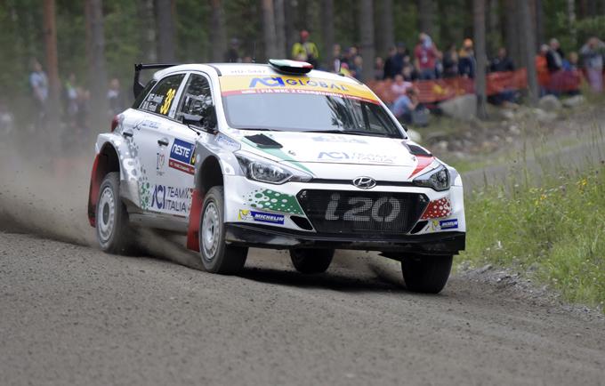 WRC2 – Rally di Catalogna: Fabio Andolfi al via con una Hyundai i20 R5