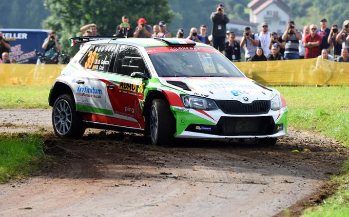 WRC2 – Benito Guerra e Motorsport Italia al via del Rally del Catalogna