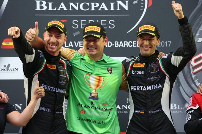 Blancpain GT – Lamborghini e il Grasser Racing Team campioni 2017!