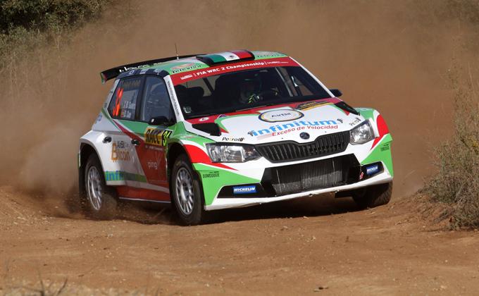 WRC2 – Benito Guerra e Motorsport Italia al via del Rally di Gran Bretagna