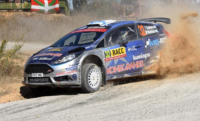 WRC2 – Rally di Catalogna: Suninen e M-Sport al top
