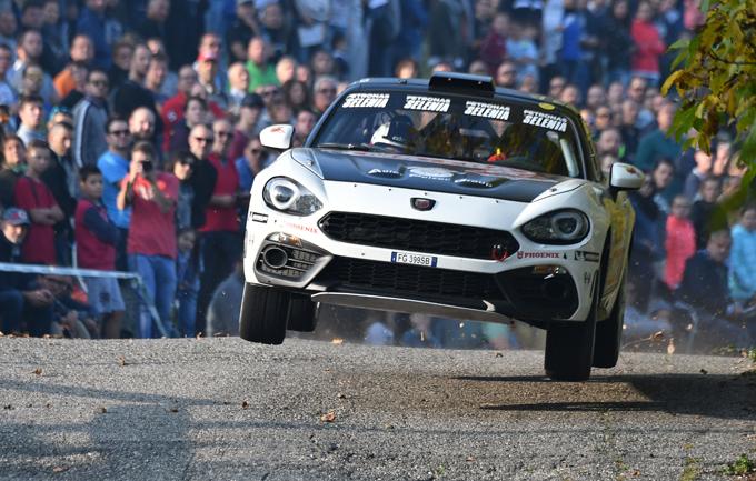 Trofeo Abarth 124 rally – Rally Due Valli: Andrea Nucita trionfa in categoria R-GT