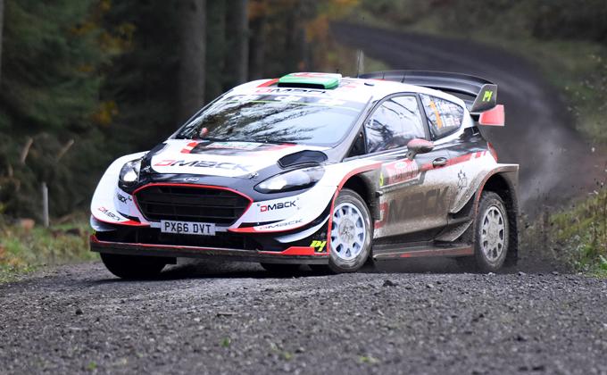 WRC – Rally di Gran Bretagna: la prima assoluta di Evans