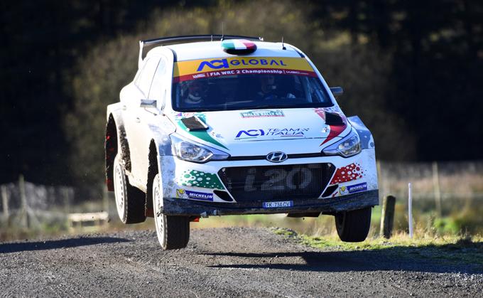 WRC2 – Rally di Gran Bretagna: decimo posto per Fabio Andolfi
