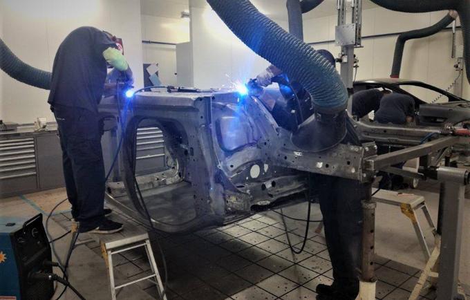 FIA WRX – Prodrive al lavoro sul secondo telaio della Renault Megane RS RX