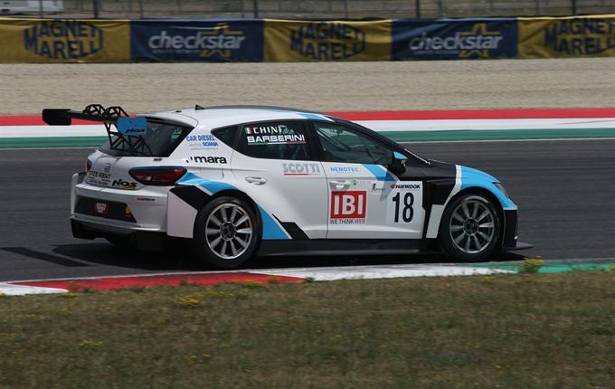 TCR Italy – Monza: Barberini sulla Seat del Team NOS