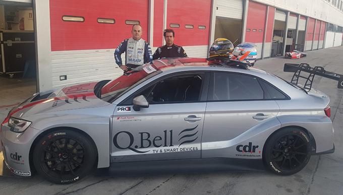 TCR – Basso e Figueiredo provano ad Adria l'Audi RS 3 LMS TCR