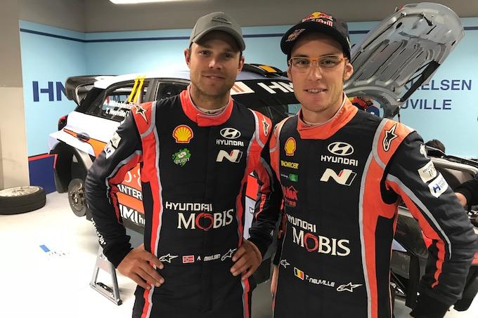 "Monza Rally Show | ""Una Hyundai per due"" con Neuville-Mikkelsen [INTERVISTA]"
