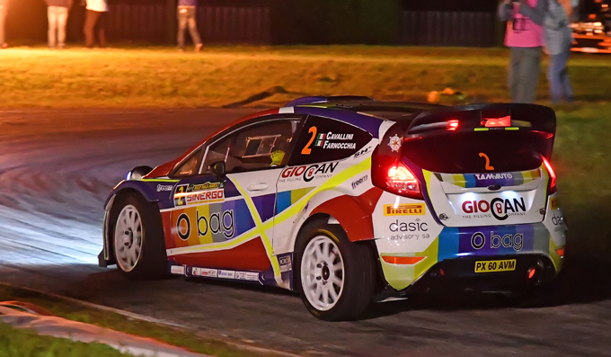 Monza Rally Show – Tobia Cavallini al via con una Ford Fiesta WRC