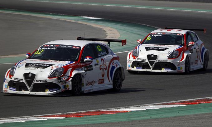 TCR – Dubai: top 10 in entrambe le gare per le Alfa Romeo Giulietta TCR