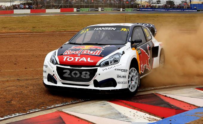 FIA WRX – Città del Capo, Peugeot: piazza d'onore per Timmy Hansen in Sudafrica