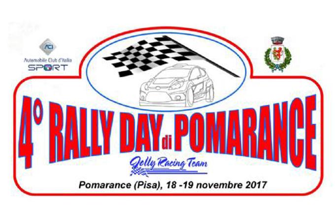 Rally Day di Pomarance – La quarta edizione il 18 e 19 novembre