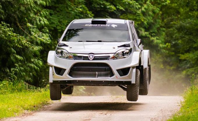WRC2 – Proton: Marcus Gronholm prova la Iriz R5 su sterrato