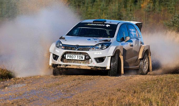 Proton Iriz R5: esordio positivo nel Malton Forest Rally